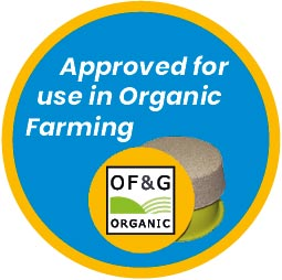 Approved For Use In Organic Farming